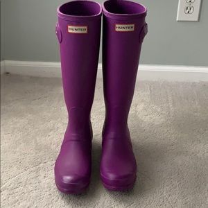 Authentic Hunter boots - US 6